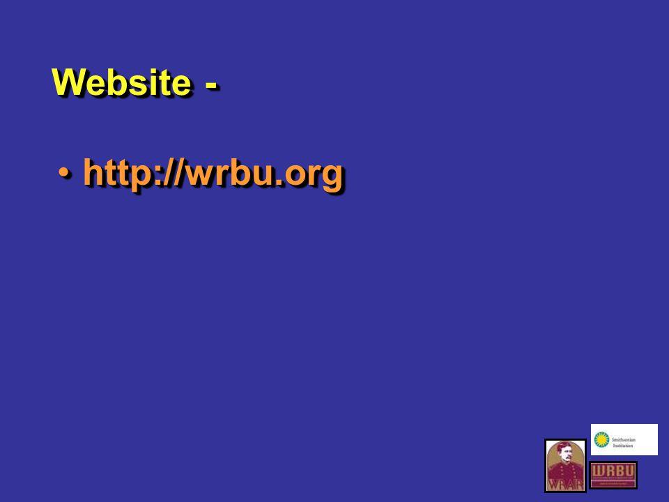 Website - http://wrbu.orghttp://wrbu.org