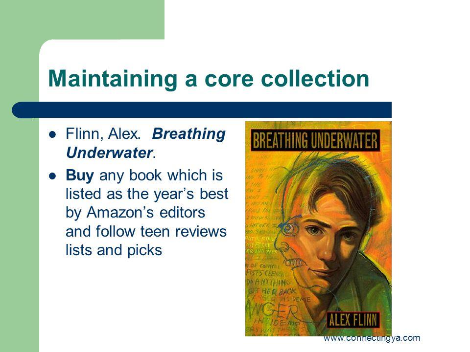 www.connectingya.com Maintaining a core collection Flinn, Alex.