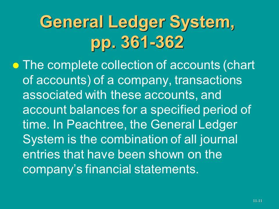 General Ledger System, pp.