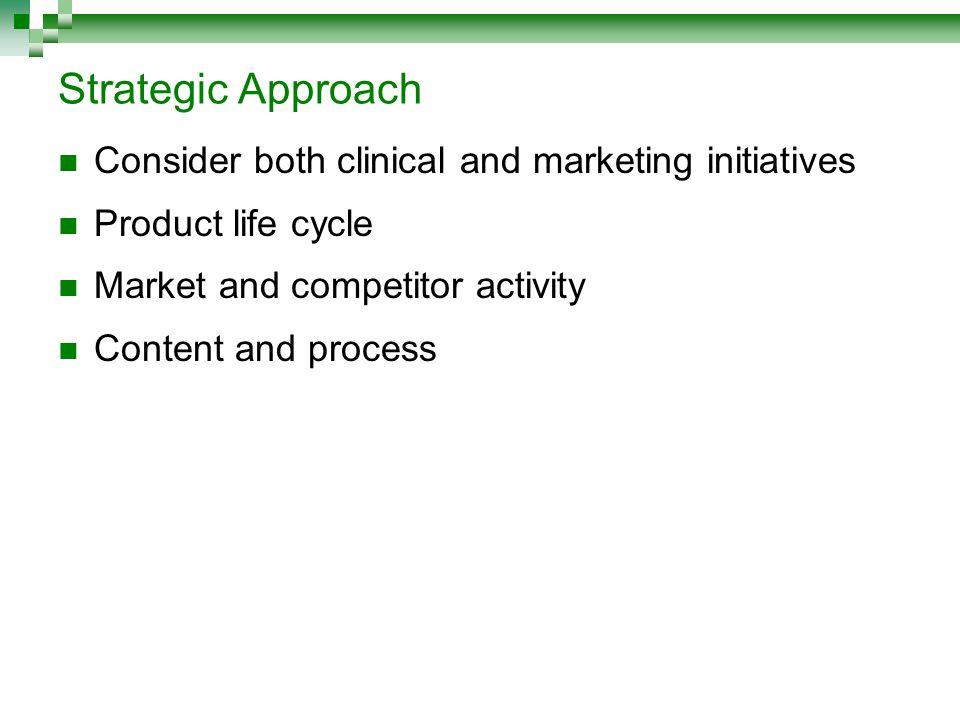 Clinical Development Plan