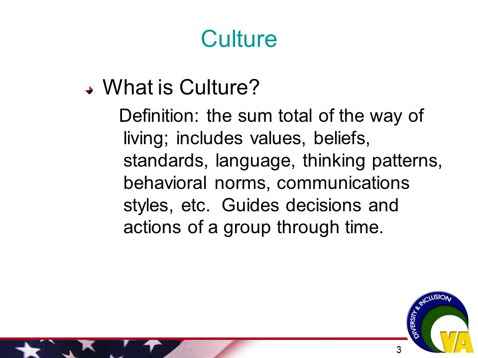 2 WORKSHOP OBJECTIVES Briefly explore the concepts and definitions of culture and cultural competencyBriefly explore the concepts and definitions of c