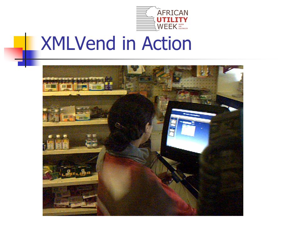 XMLVend in Action