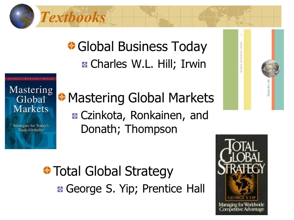 Global Business Today Charles W.L.