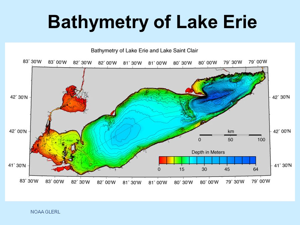 Lake Erie is the smallest of the Great Lakes in volume (119 cubic miles) and is exposed to the greatest effects from urbanization and agriculture.