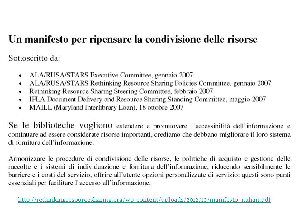 http://rethinkingresourcesharing.org/wp-content/uploads/2012/10/manifesto_italian.pdf