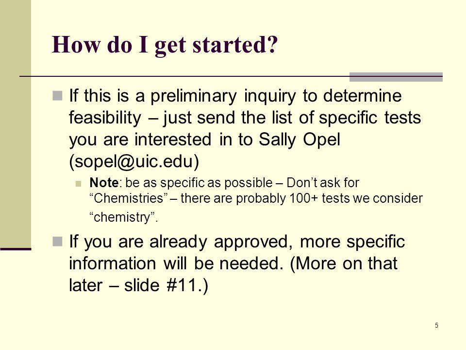 5 How do I get started.