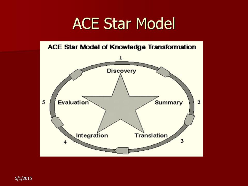 5/1/2015 ACE Star Model