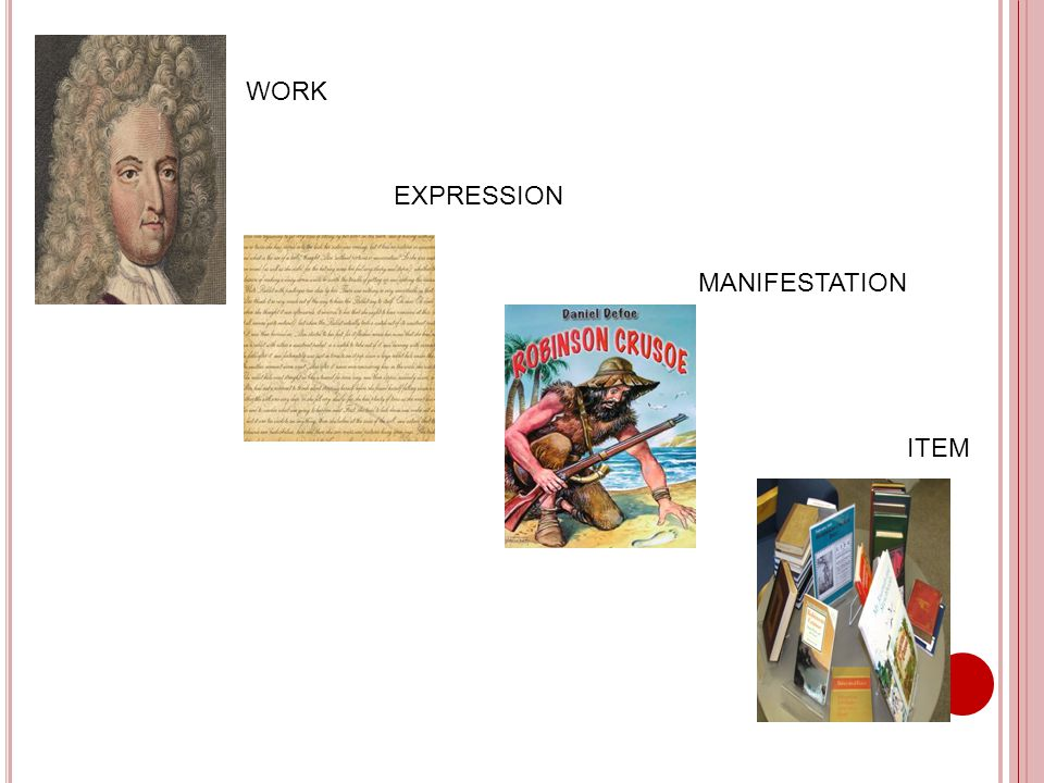 WORK EXPRESSION MANIFESTATION ITEM