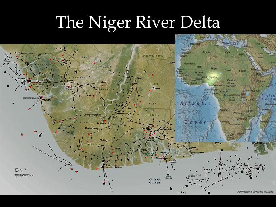 The Niger River Delta