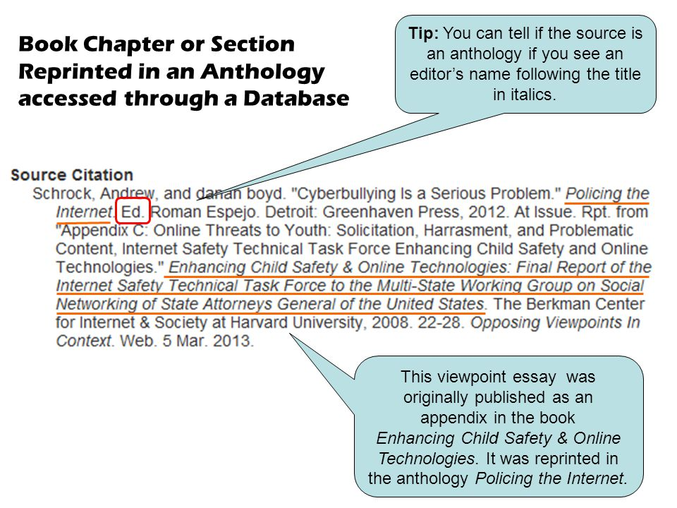 This viewpoint essay was originally published as an appendix in the book Enhancing Child Safety & Online Technologies. It was reprinted in the antholo