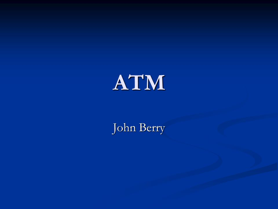 What is ATM.Named ATM for Ataxia-telangiectasia Mutated gene.