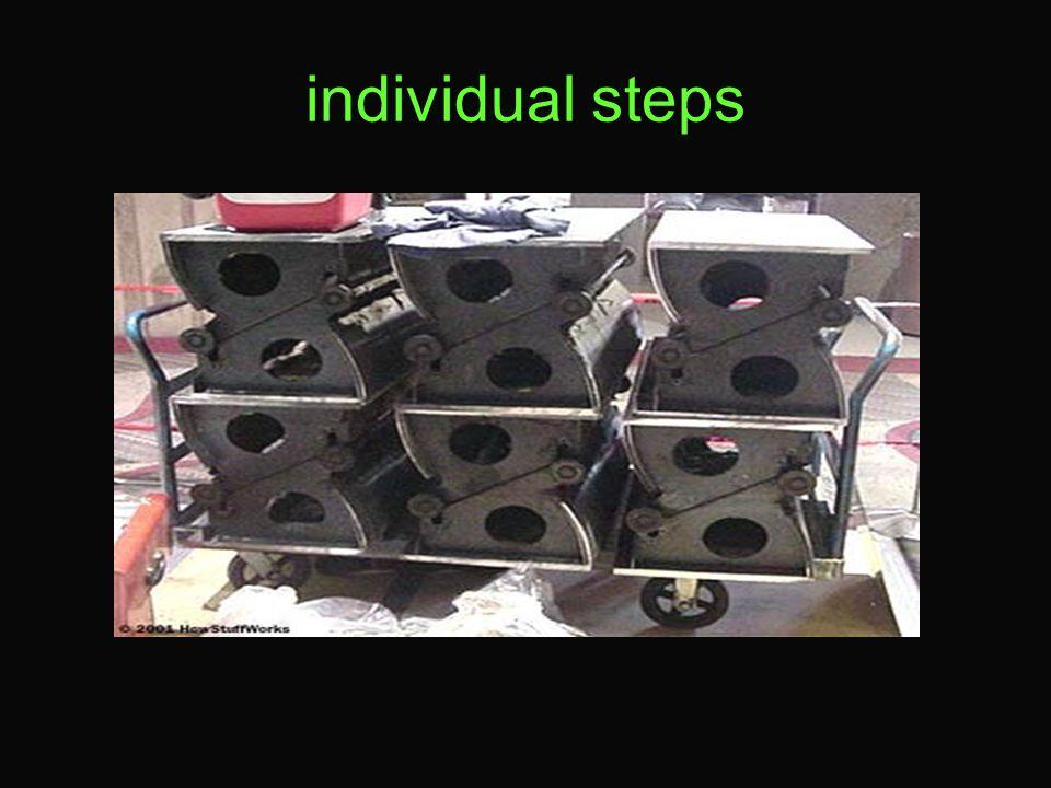 individual steps