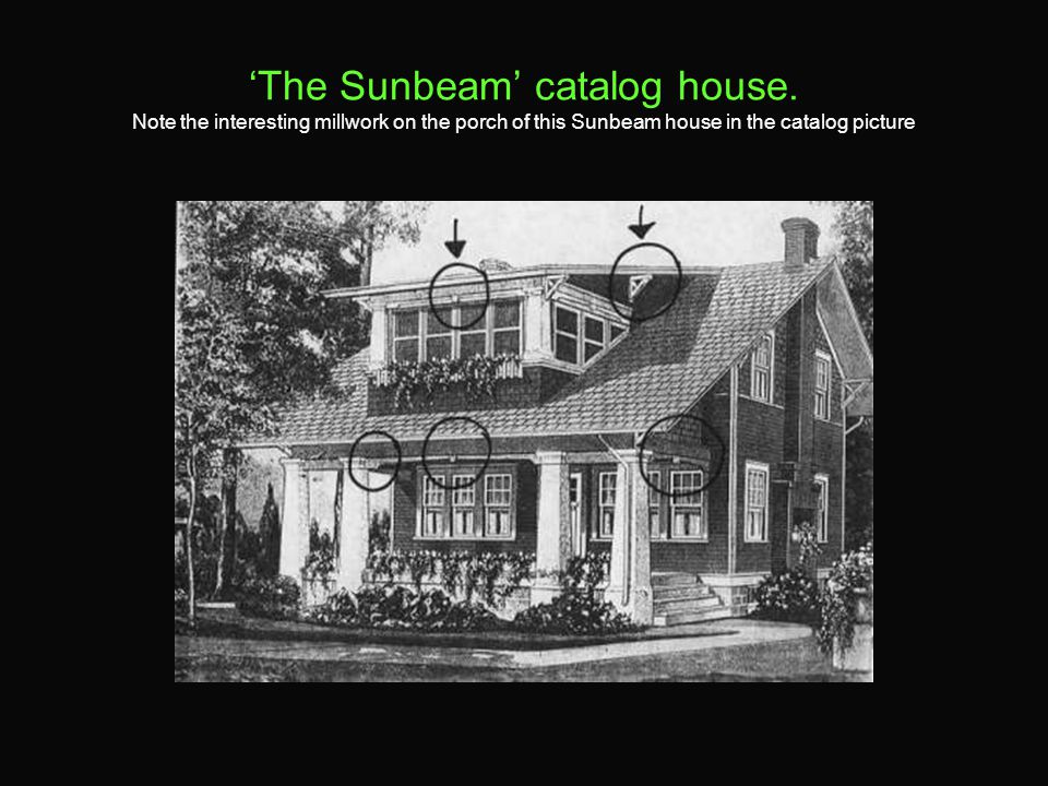 'The Sunbeam' catalog house.
