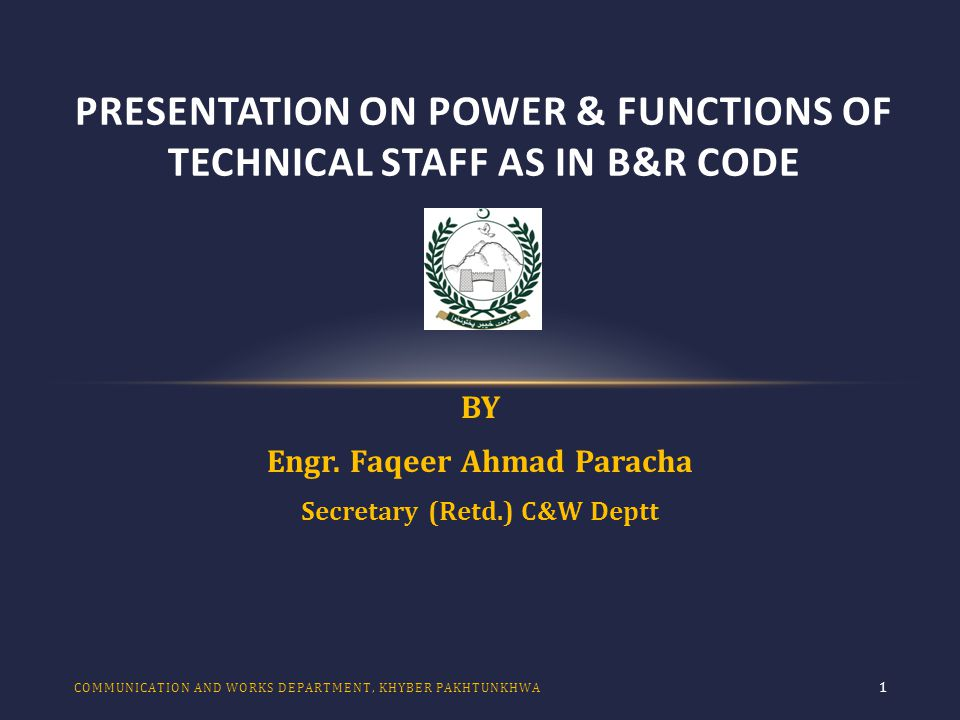 POST PARTITION ERA 12 a.The Code derives strength from the Central Public Works Accounts (CPWA) Code, PWD Code, General Financial Rules (Central Govt.), the Audit Code, Punjab Financial Rules etc.etc.