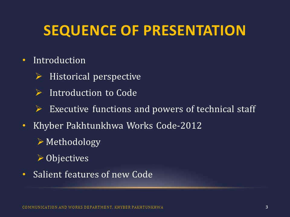 SALIENT FEATURES 34 The system of holding and conducting professional examinations, selecting syllabii, and compilation of results together with fixation of criteria of passing the examination as well as the importance of clearing successfully the examination has been elaborated for all disciplines of Engineering and Architecture in the new Code – 2012.
