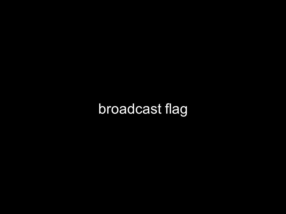 broadcast flag