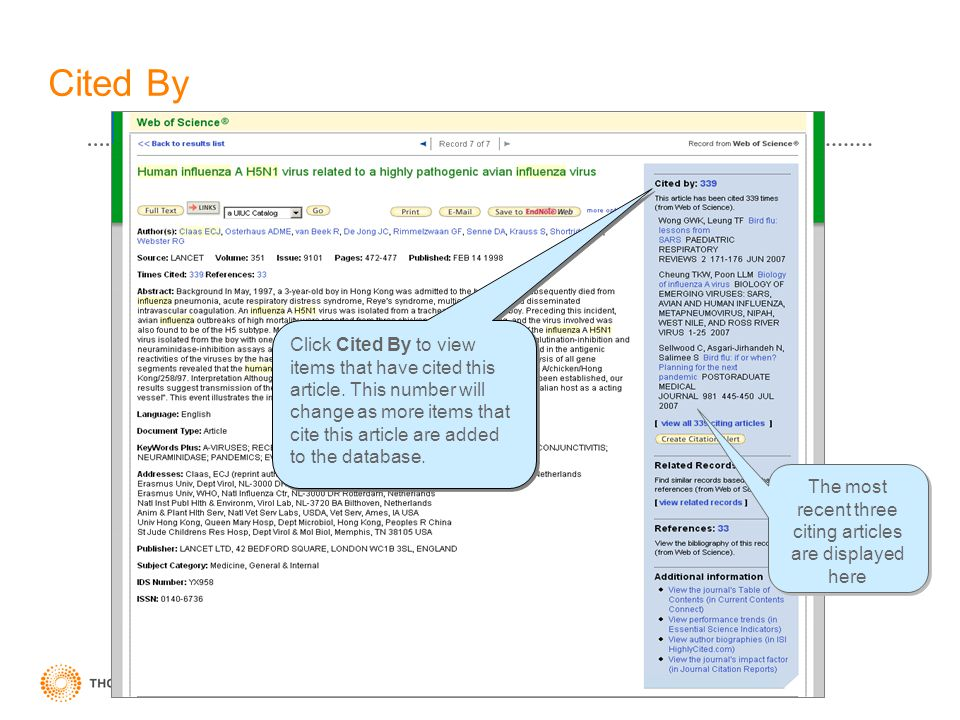 Cited By Click Cited By to view items that have cited this article. This number will change as more items that cite this article are added to the data