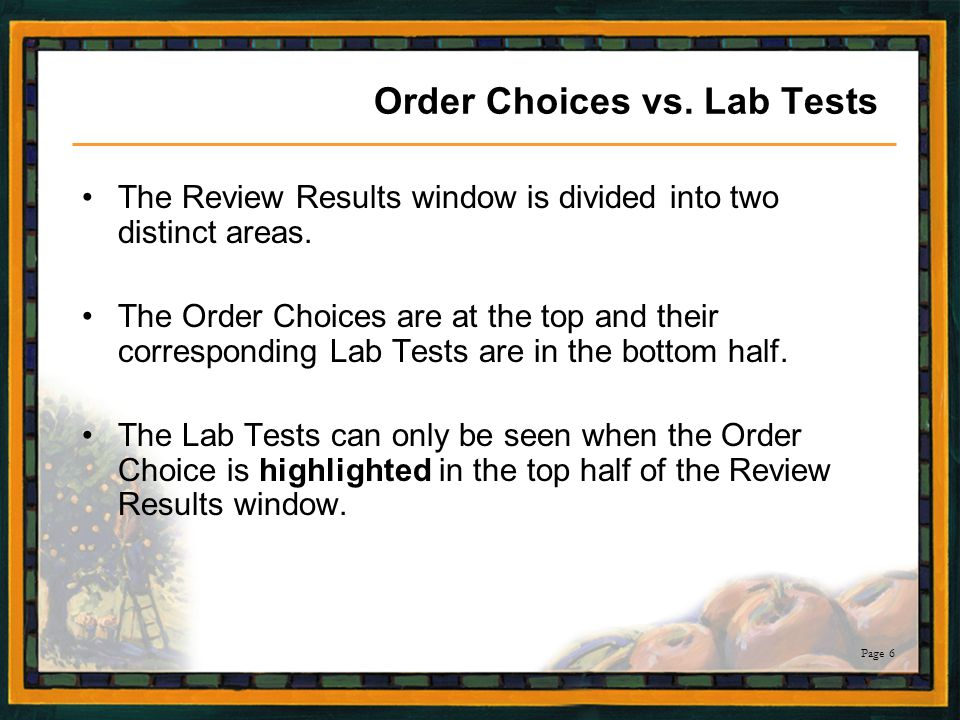 Page 77 Review of Rules triggered Click the Rules box to see the message.