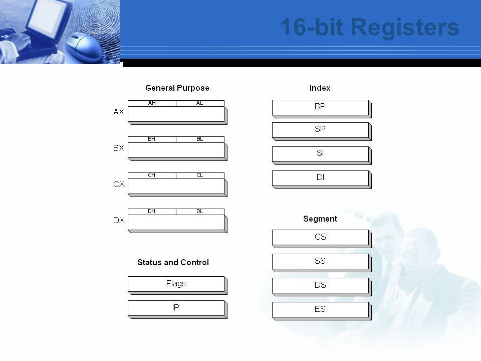 16-bit Registers