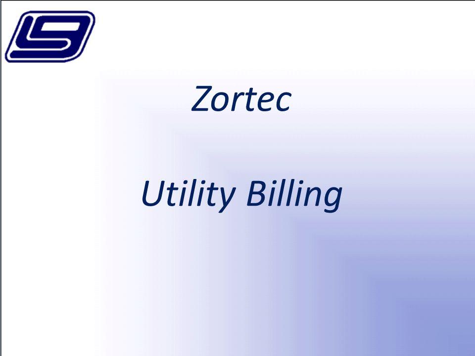 Zortec Utility Billing
