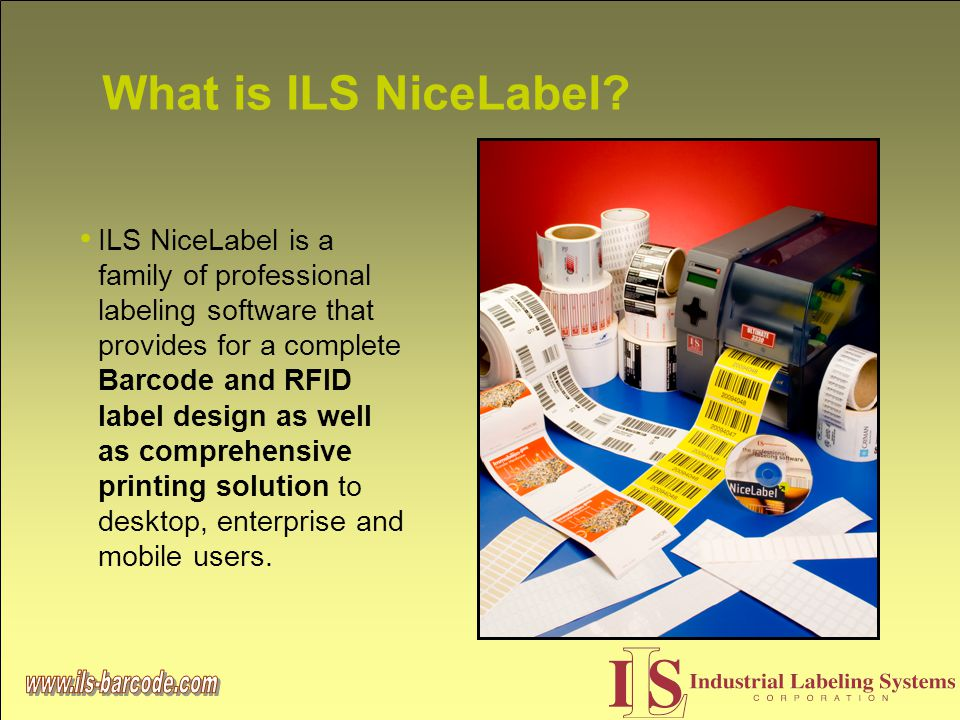What is ILS NiceLabel.