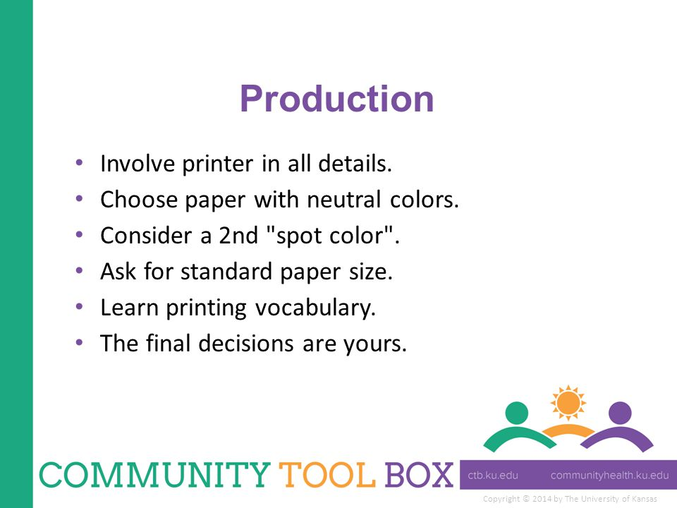Copyright © 2014 by The University of Kansas Production Involve printer in all details.