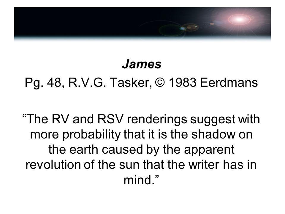 James Pg. 48, R.V.G.