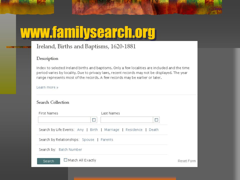 www.familysearch.org