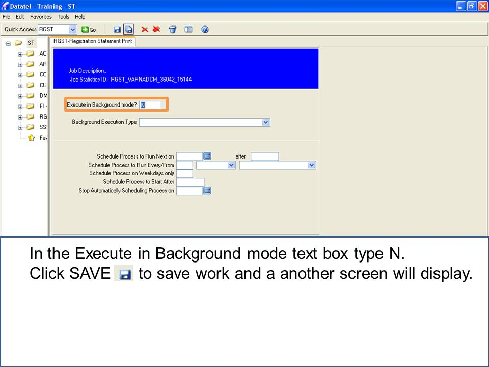 In the Output Device textbox, Type H for Hold (to print) or E for Electronic Delivery (to send as an email).