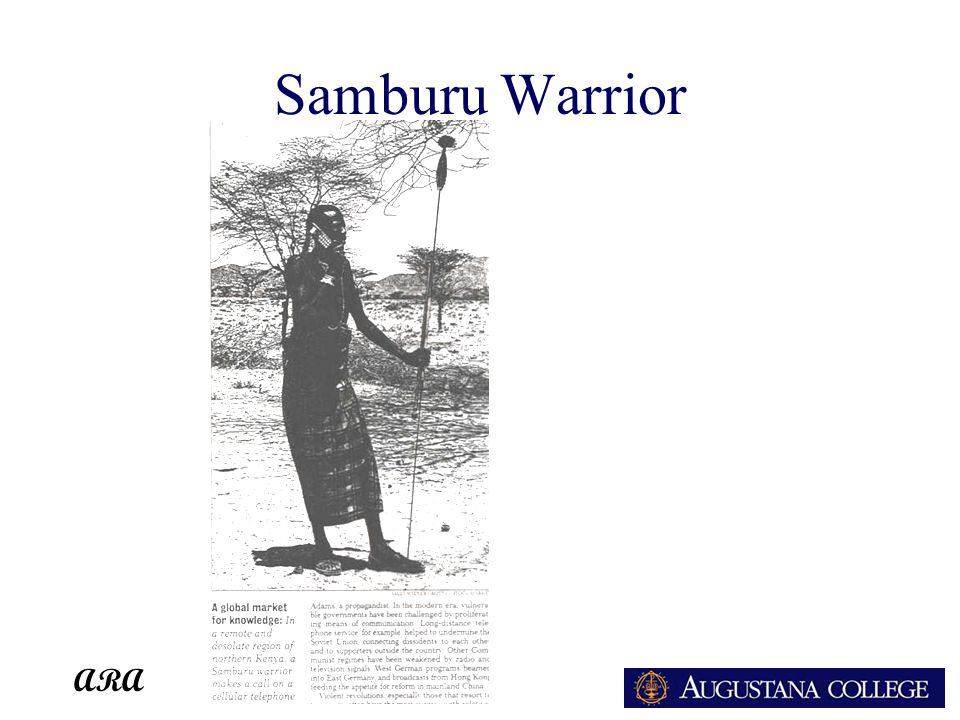 ARA Samburu Warrior