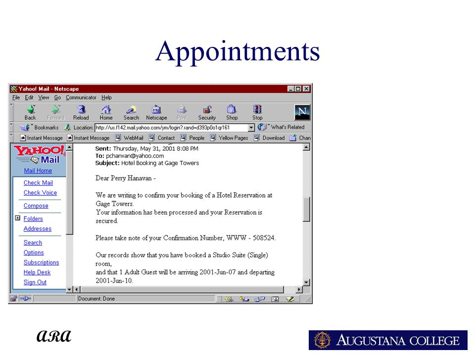 ARA Appointments
