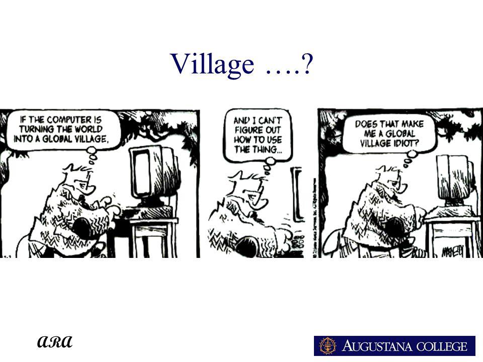ARA Village ….?