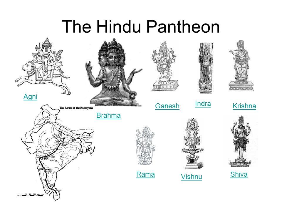 The Hindu Pantheon Agni Brahma Ganesh Indra Krishna Shiva Vishnu Rama