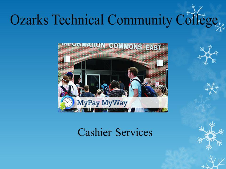 Cashier Services