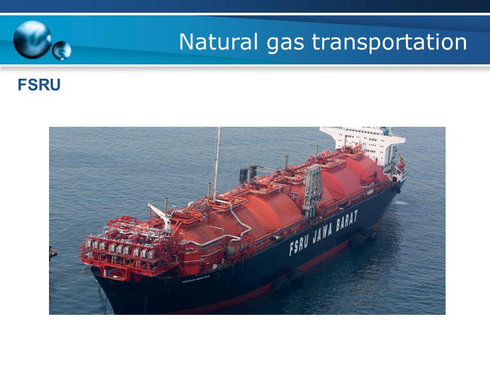 Natural gas transportation FSRU