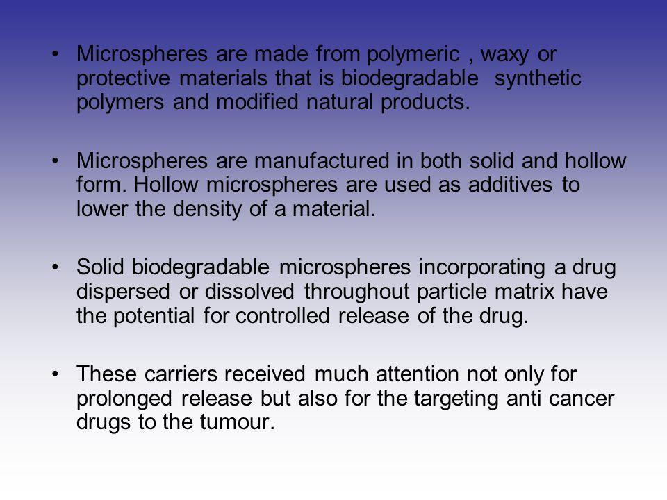 APPLICATIONS  MICROSPHERES IN VACCINE DELIVERY.Eg ; Diphtheria toxoid, Tetanus toxoid.