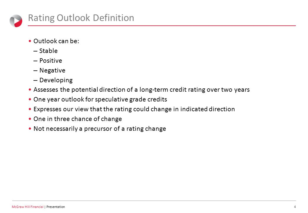 15 McGraw Hill Financial | Presentation S&P's View: Transition Risk – Living In Two Worlds At Once Value-based orientation replacing fee-for-service.