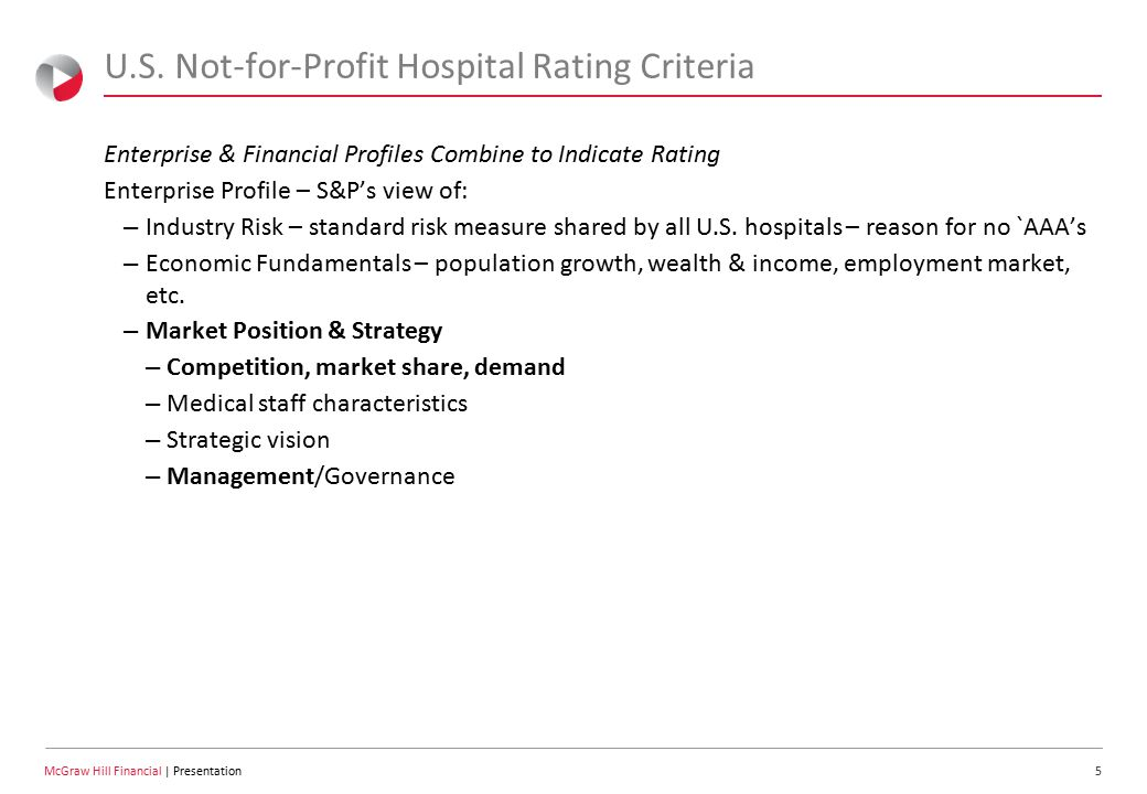 6 McGraw Hill Financial | Presentation U.S.