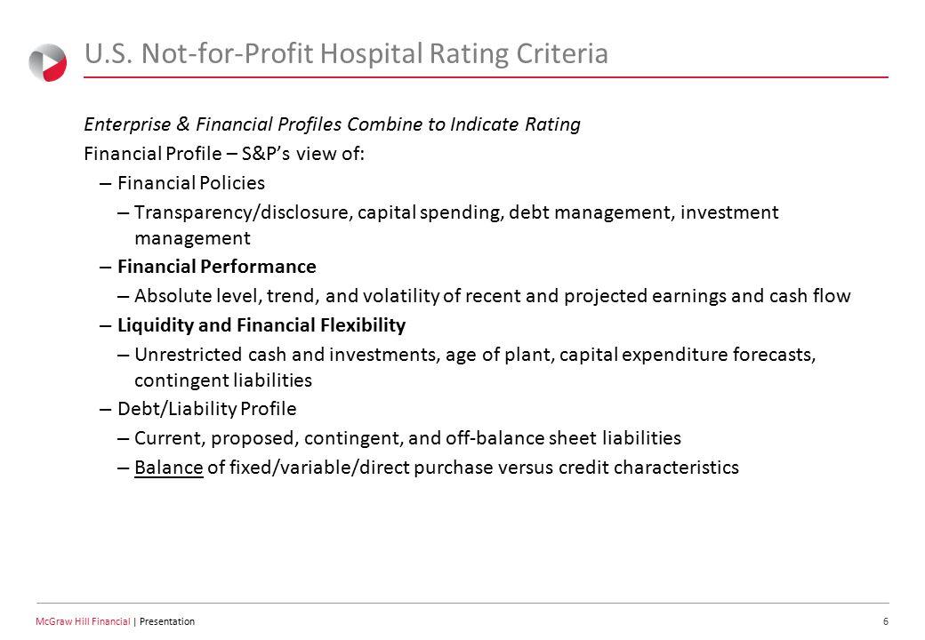6 McGraw Hill Financial | Presentation U.S.
