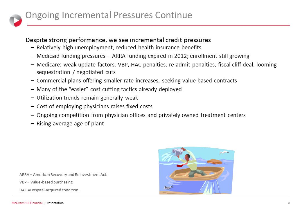 19 McGraw Hill Financial | Presentation 2011 Excludes developing and not meaningful outlooks.