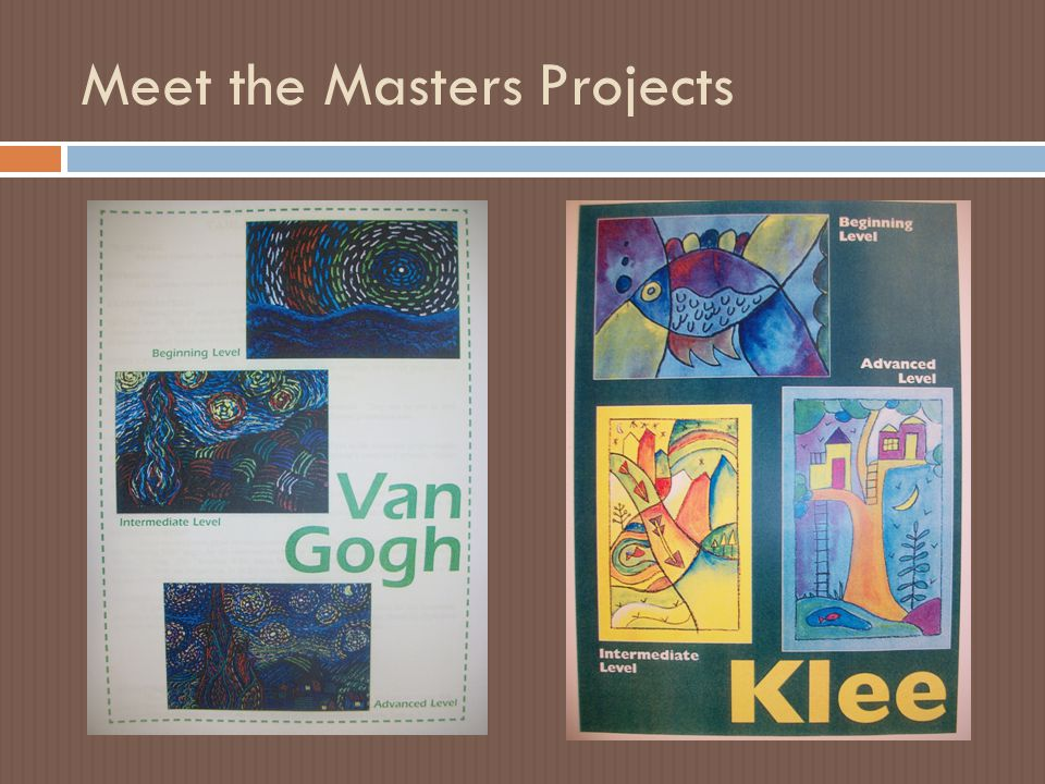 Meet the Masters Projects
