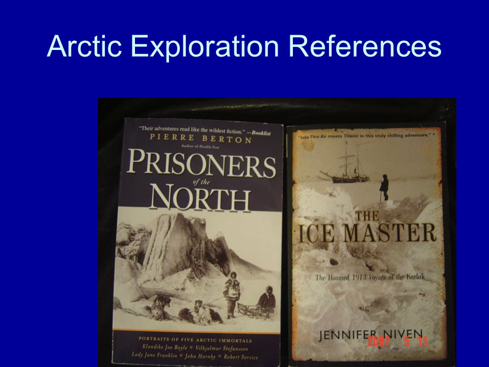 Arctic Exploration References