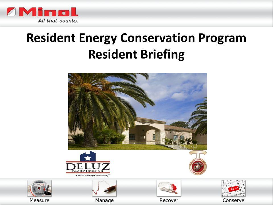 Resident Energy Conservation Program Resident Briefing