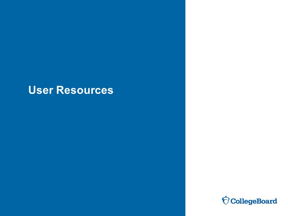 User Resources