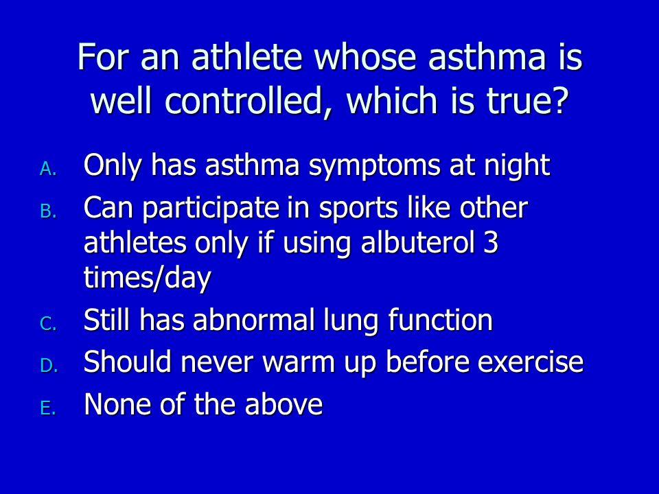 Asthma in America  Survey.SRBI. December 1998.