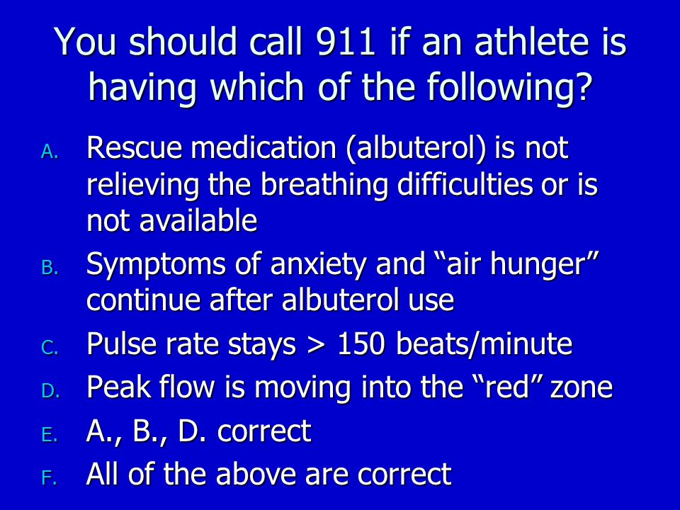 What is/are the recommended actions or treatment to avoid exercise induced asthma (EIA)?: T or F A.