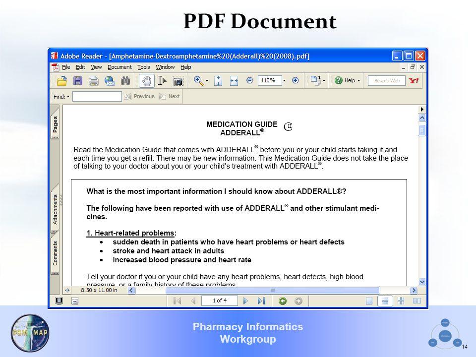 Pharmacy Informatics Workgroup PDF Document 14