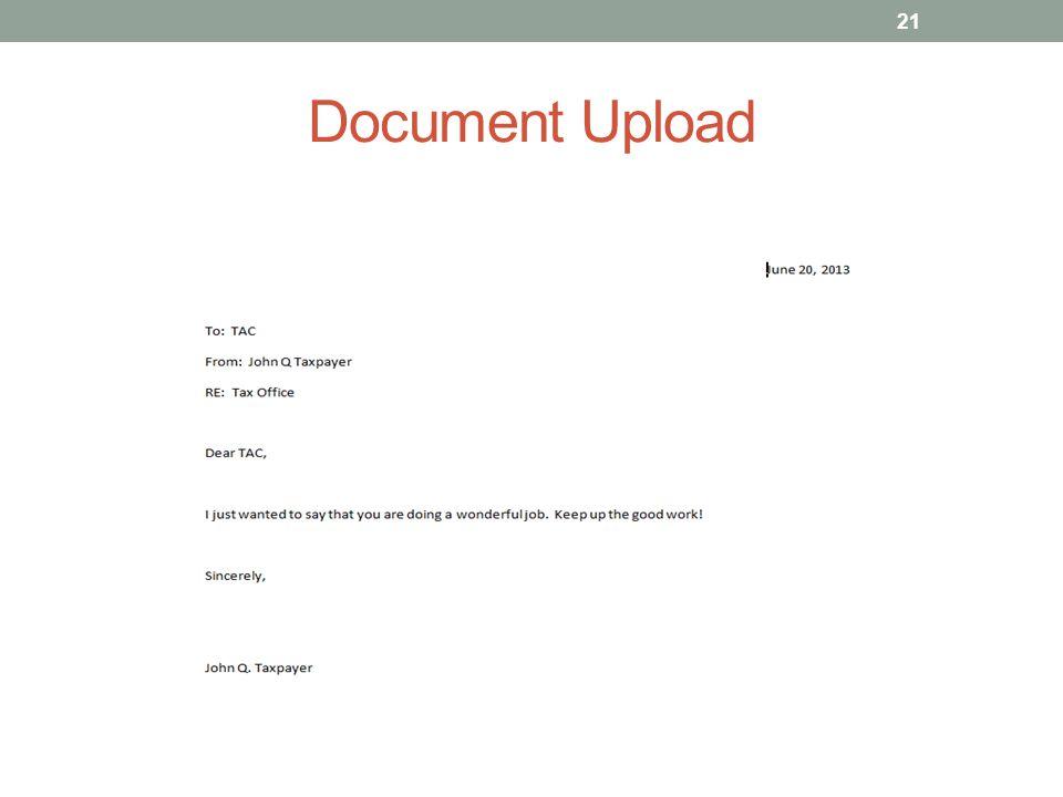 Document Upload 21