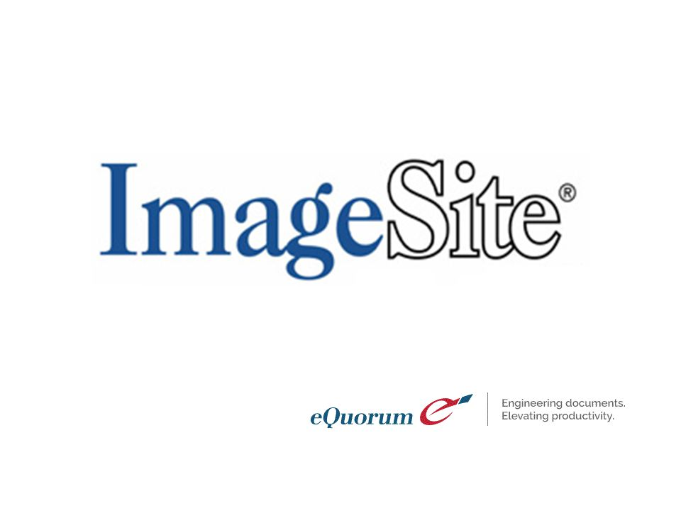 Enterprise Content Management Departmental Solutions Enterprisewide Document/Content Management at half the cost of competitive systems ImageSite is: