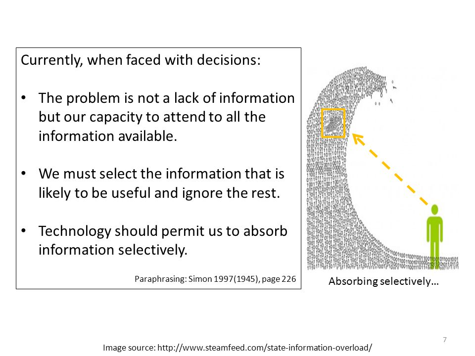 How do indicators reduce data overload? 8